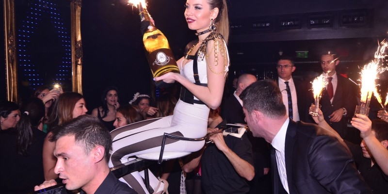 Big party in Billionaire Club istanbul