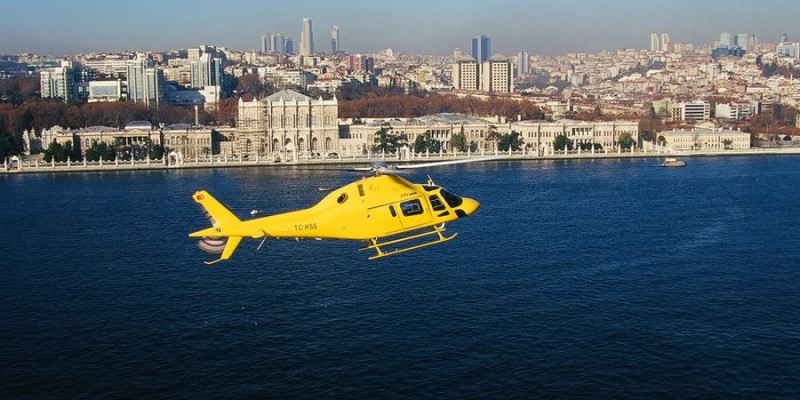 helicopter tour in istanbul