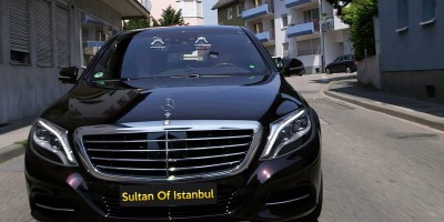 Rent S Class in Istanbul