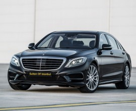 Rent Mercedes S class in istanbul