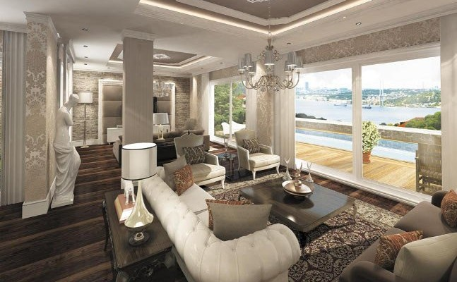 Rent villa with a bosphorus view in istanbul