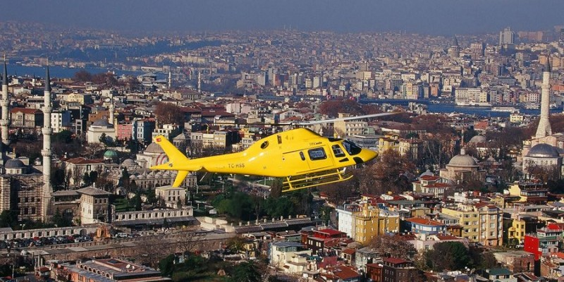 sultan of istanbul gelicopter