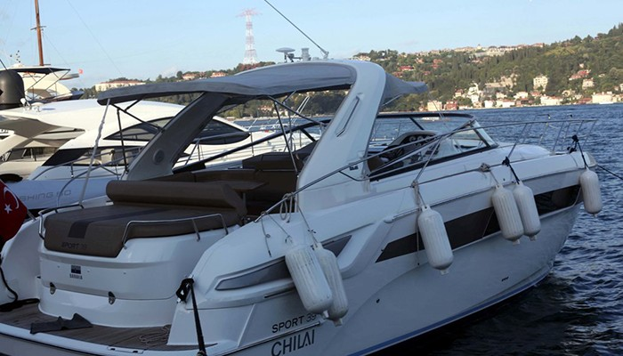 Rent a Yacht at the Bosphorus