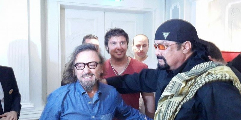 Steven Seagal istanbul Concert and Rossi Barbarossa